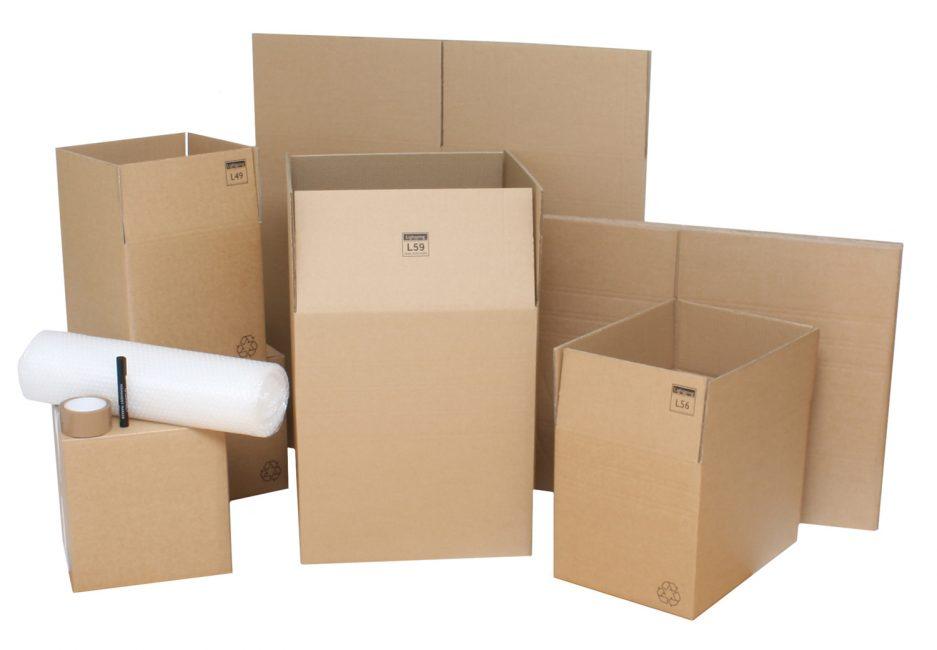 Сложная конструкция из нескольких коробок