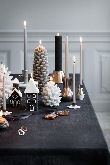 Расставьте по дому уютные свечи