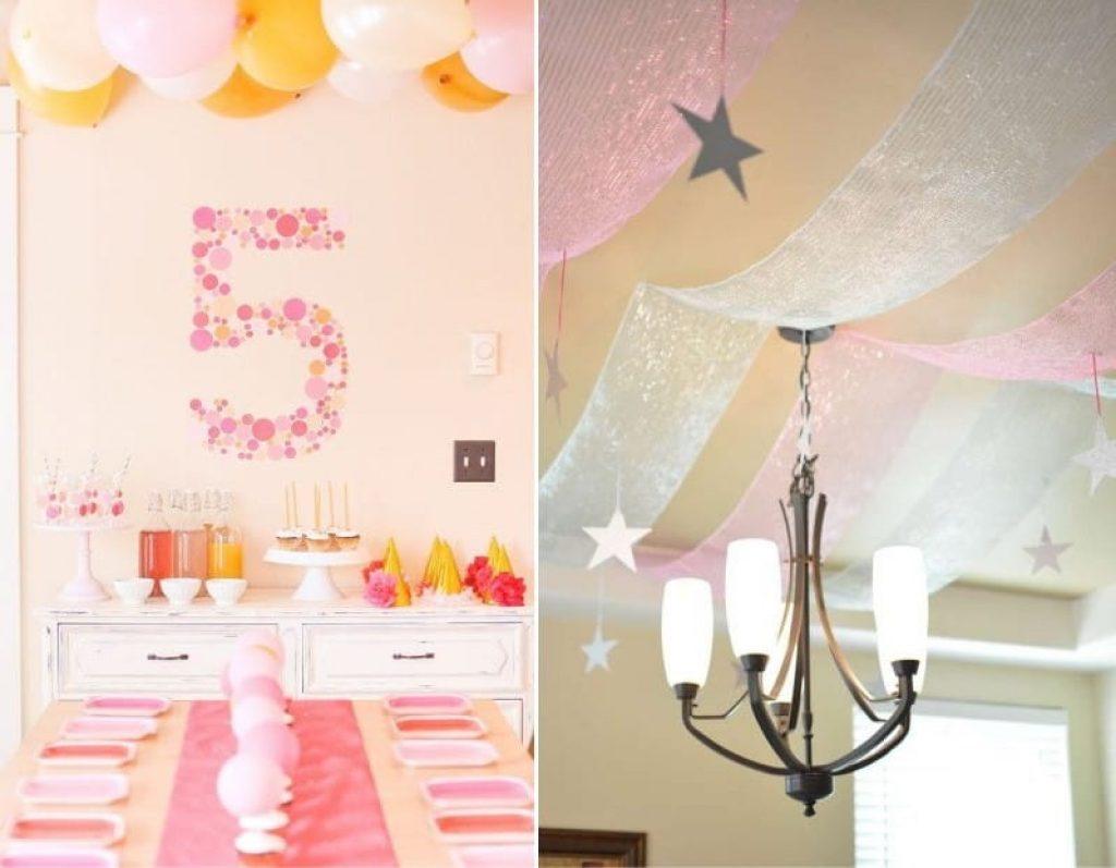 Декор комнат к дню рождения своими руками 425
