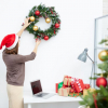 Офис своими руками - Как красиво и Оригинально украсить на новый 2018 год (180+Фото идей)
