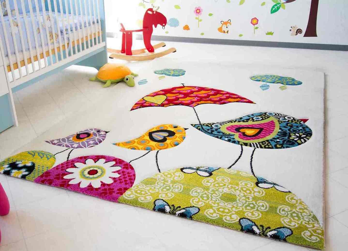 Ковёр в детскую комнату для девочек своими руками 17