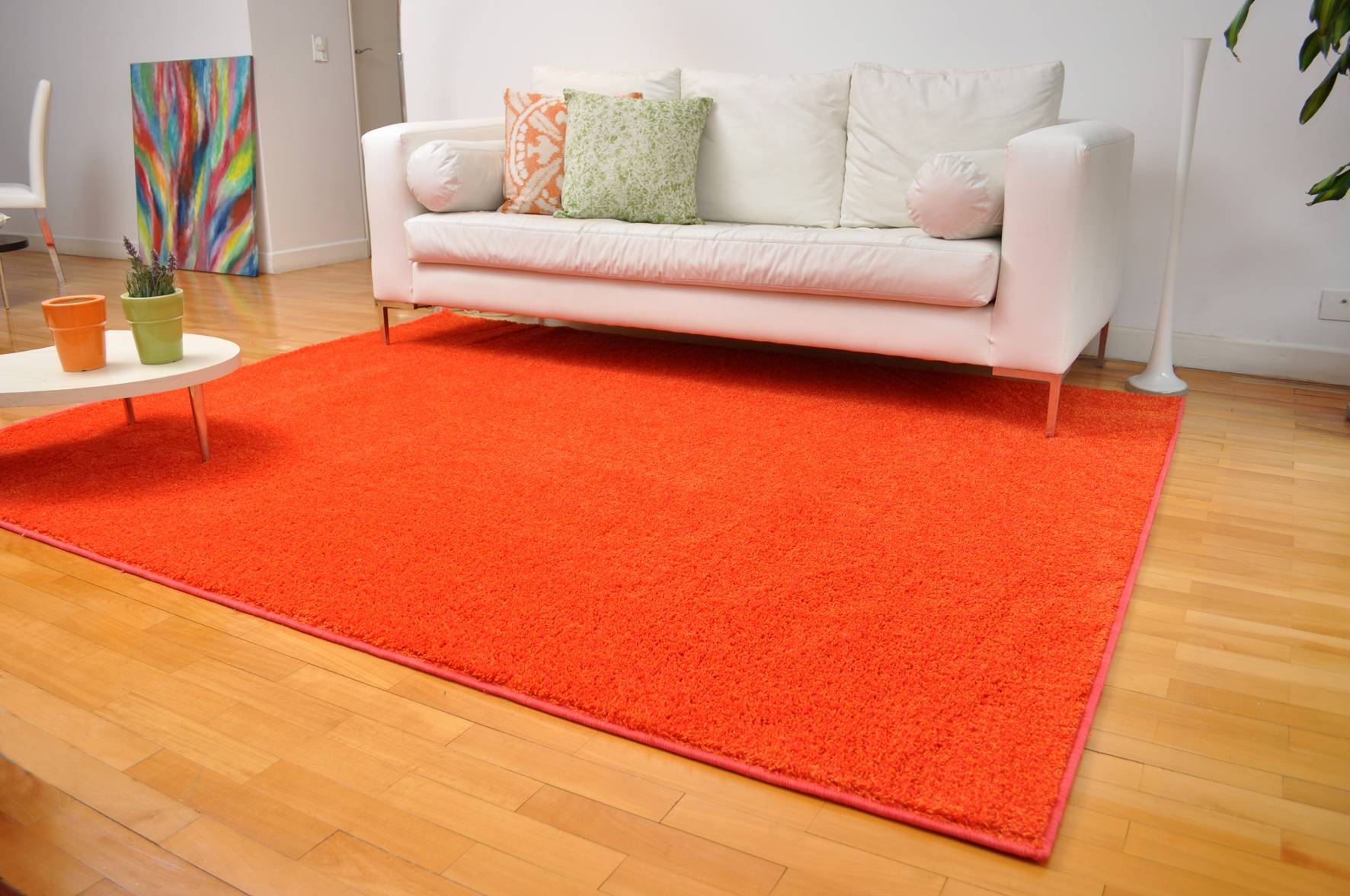 Как сделать коврик под мебель