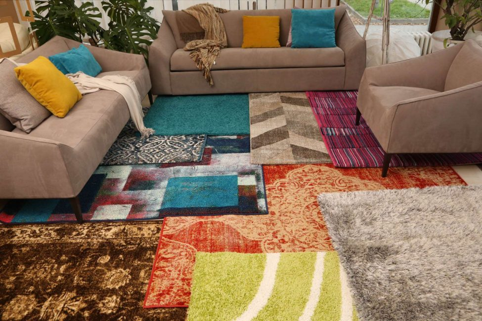 Цвет покрытия играет большую роль в общей стилистике комнаты