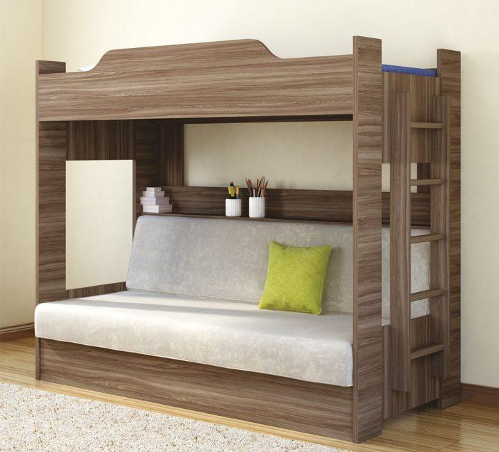 Удобный вариант для детской комнаты