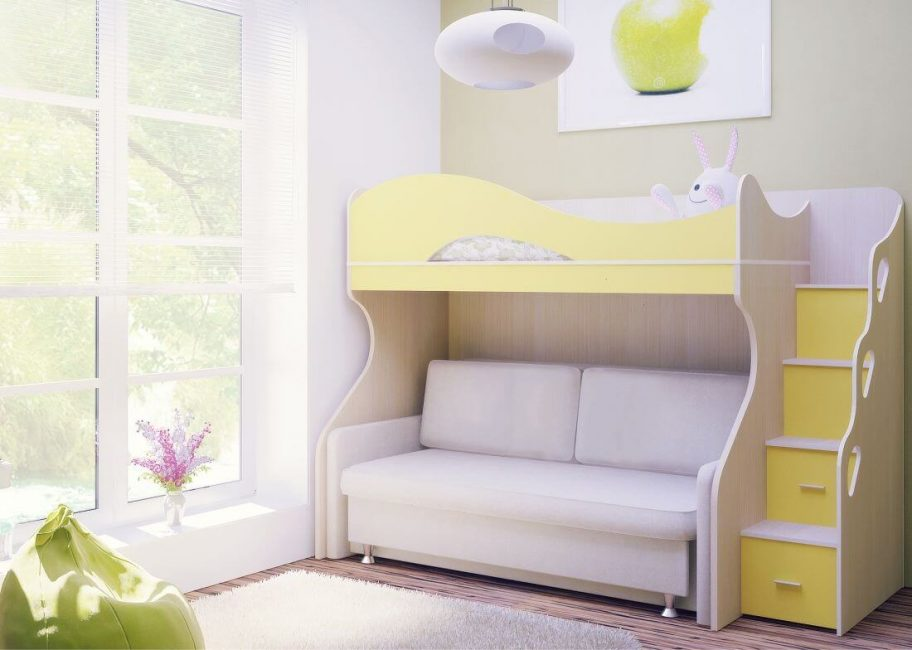 Прочная нижняя конструкция для кровати-дивана