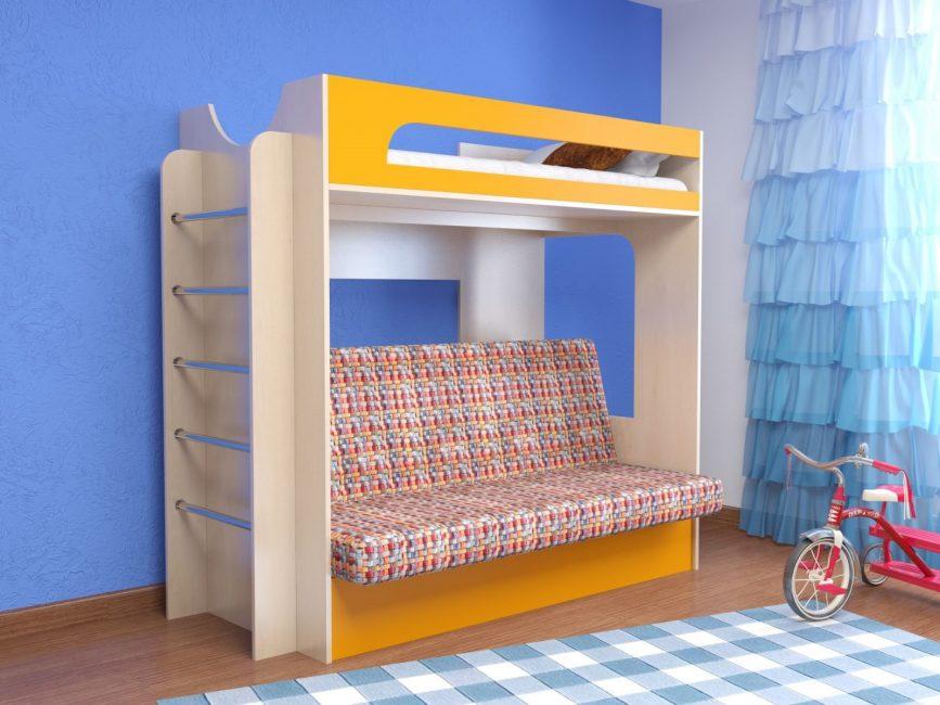 Огромный ассортимент при выборе детской мебели