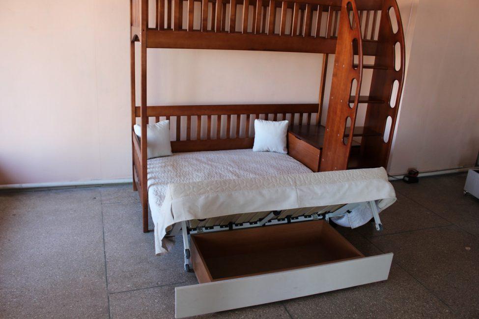 Классический стиль модели кровати