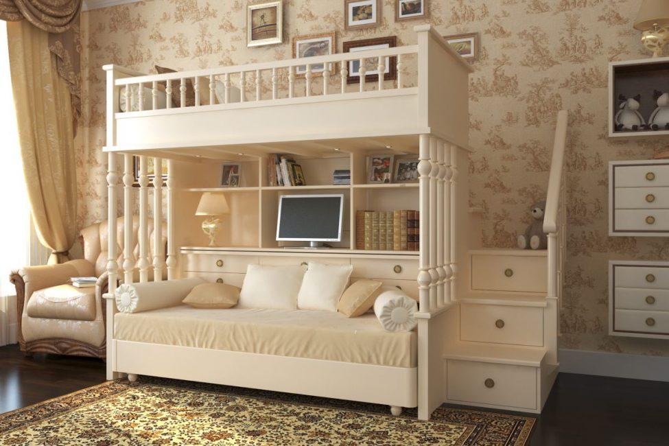 Дизайн мебели в стиль комнаты