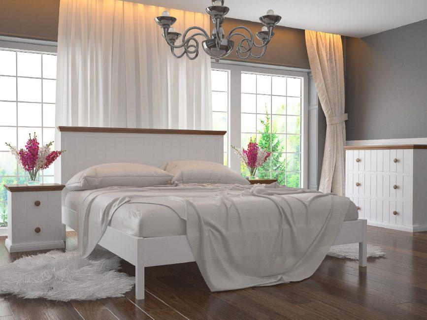 Вариант белой кровати