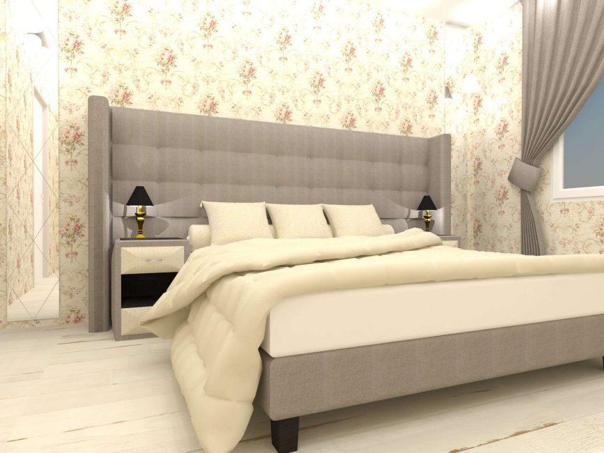 Мягкий уголок, который превращается с дивана в кровать