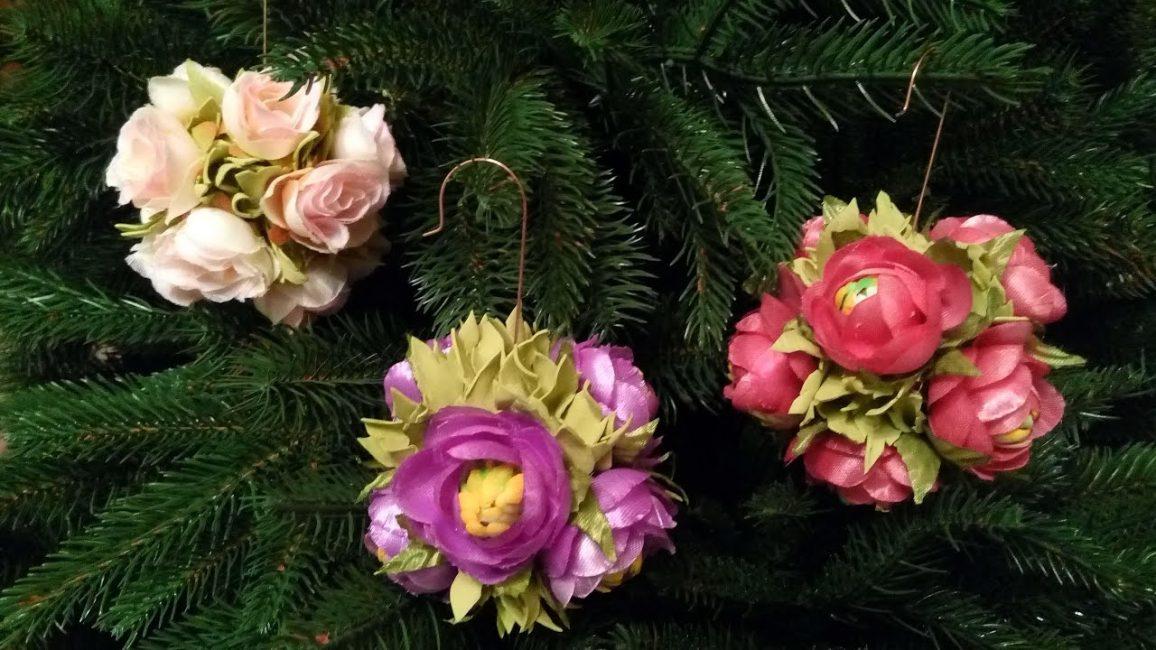 Цветы как дополнение