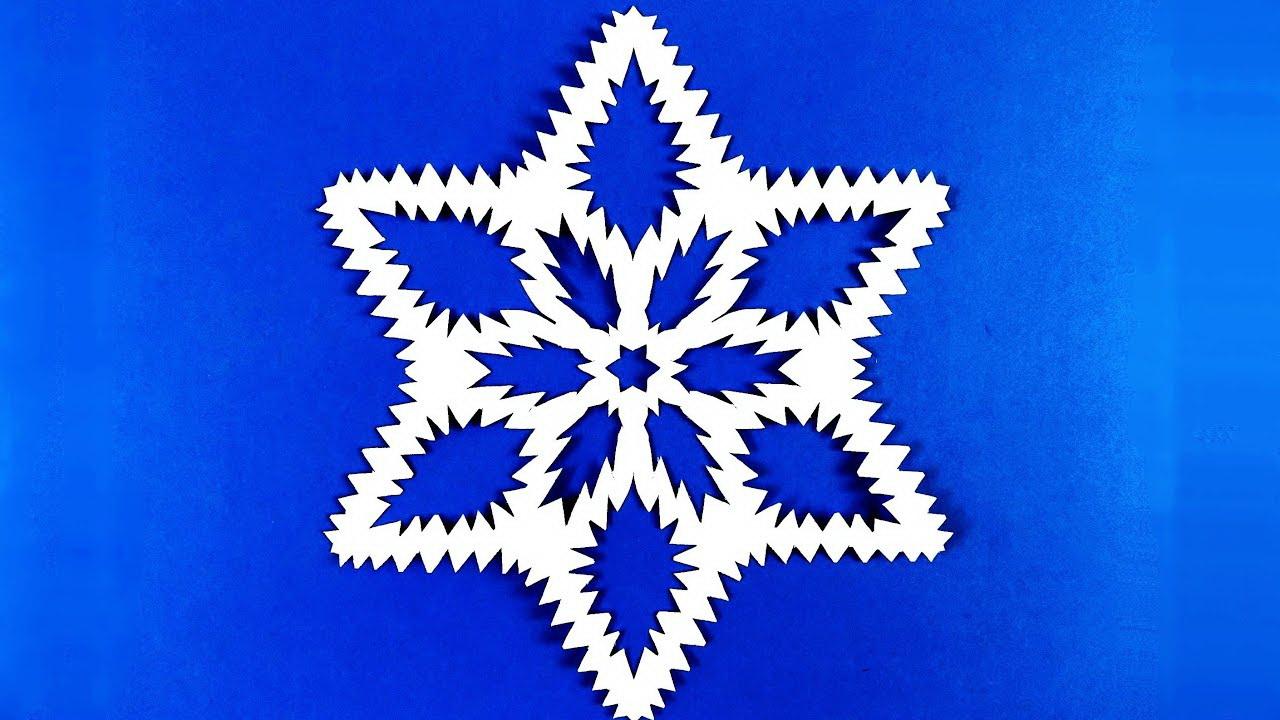 Как сделать снежинку из бумаги смотреть онлайн 36