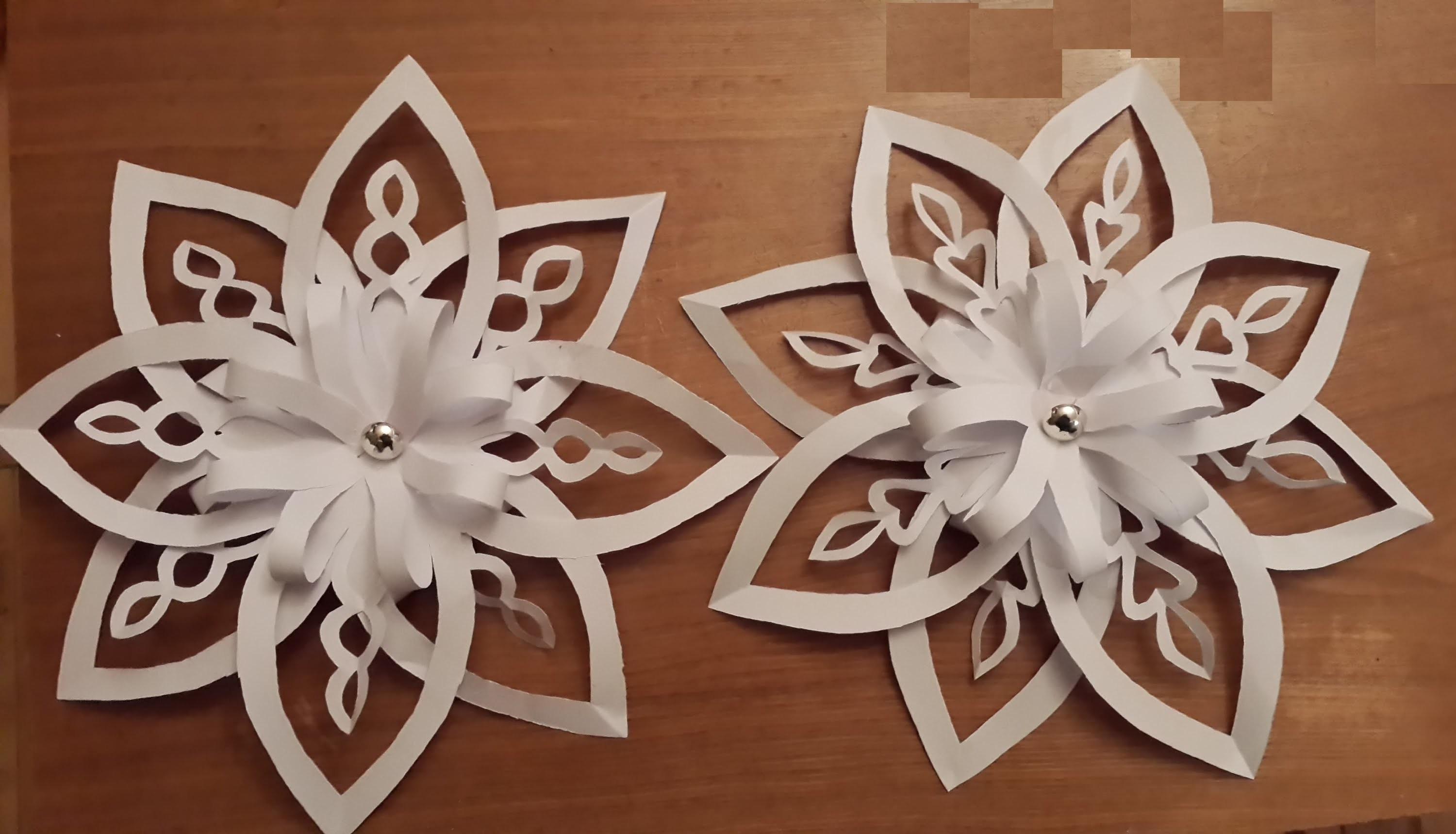 3d paper snowflake The different procedures of making paper snowflake patterns are mentioned in this article i am sure children will enjoy indulging in this craft project that needs.