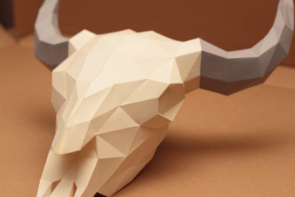 Оригинальная идея бумажного моделирования