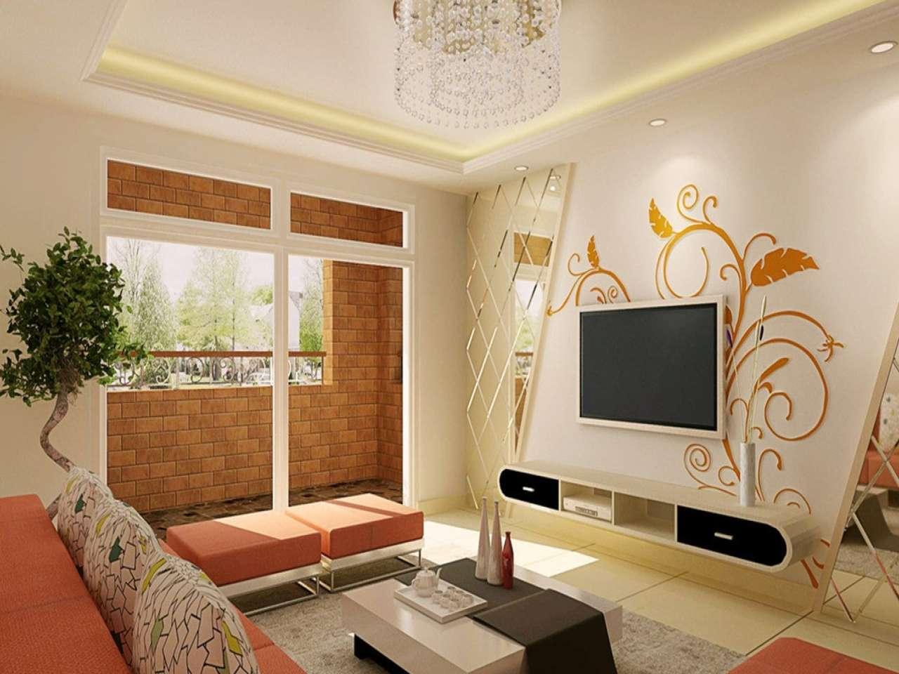 Идеи для стен в гостиной фото