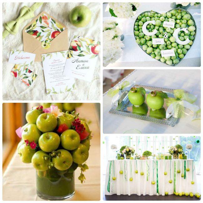 Сочная, фруктовая свадьба