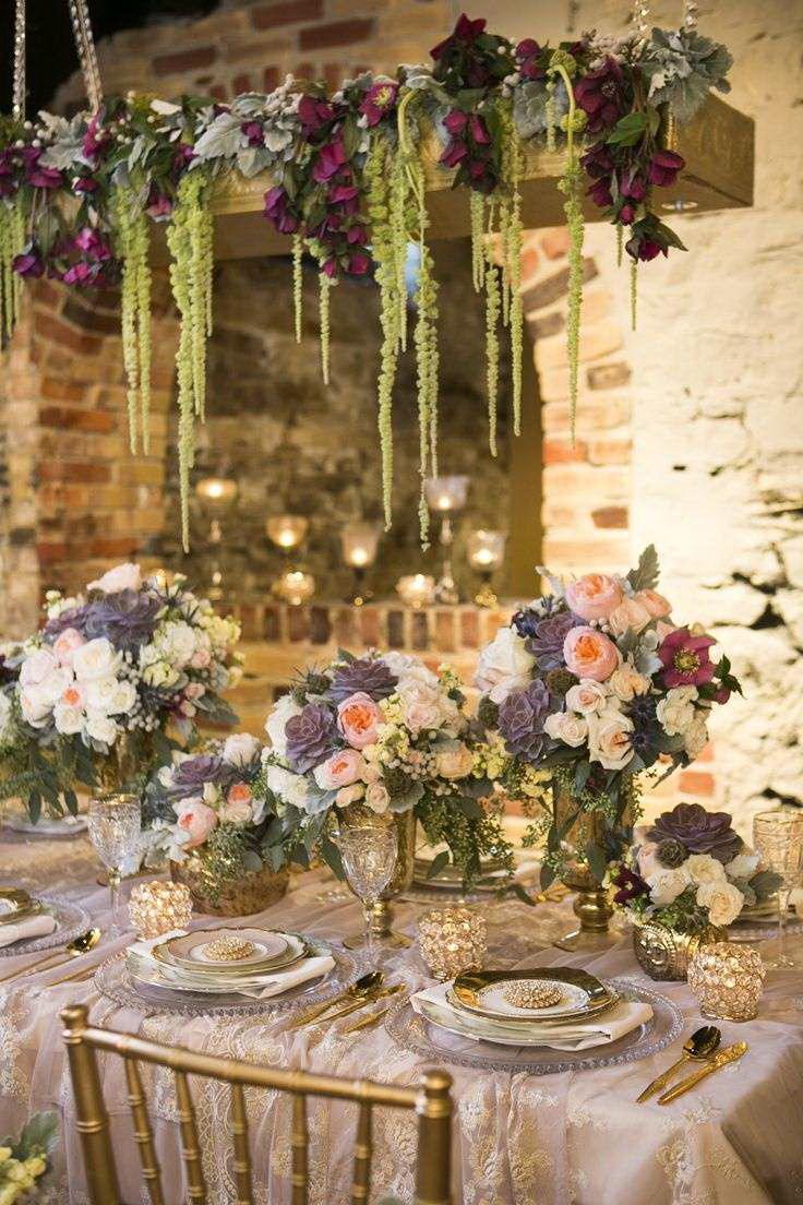 Подвесные композиции на свадьбу
