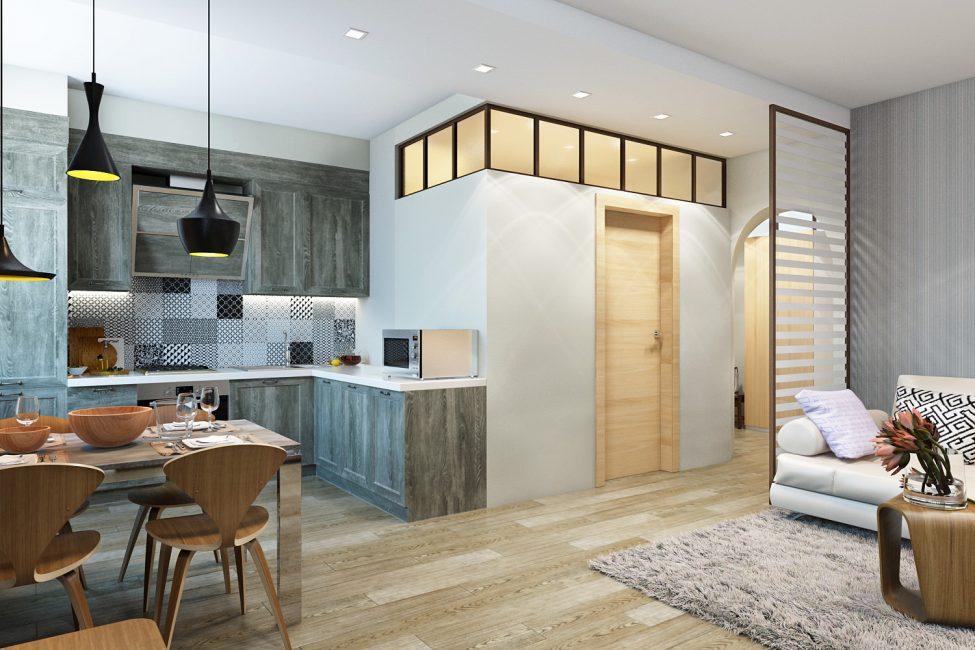 Комфортная квартира без лишних деталей