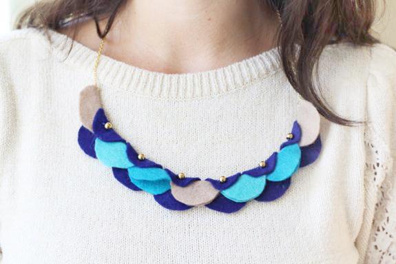 Очаровательная гирлянда-ожерелье