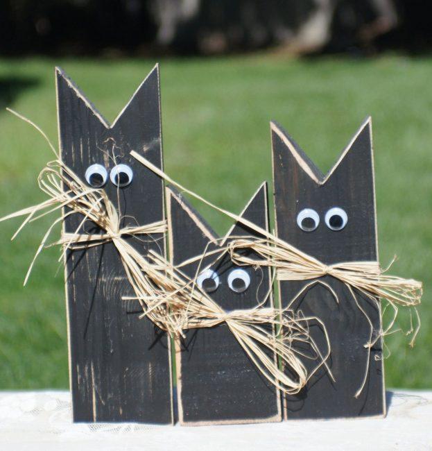 Экологичные поделки на Хэллоуин