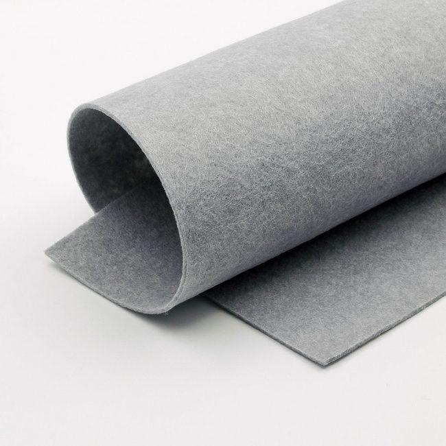 Серый фетр для основной части поделки