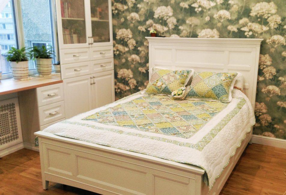 Модель покрывала под стиль кровати