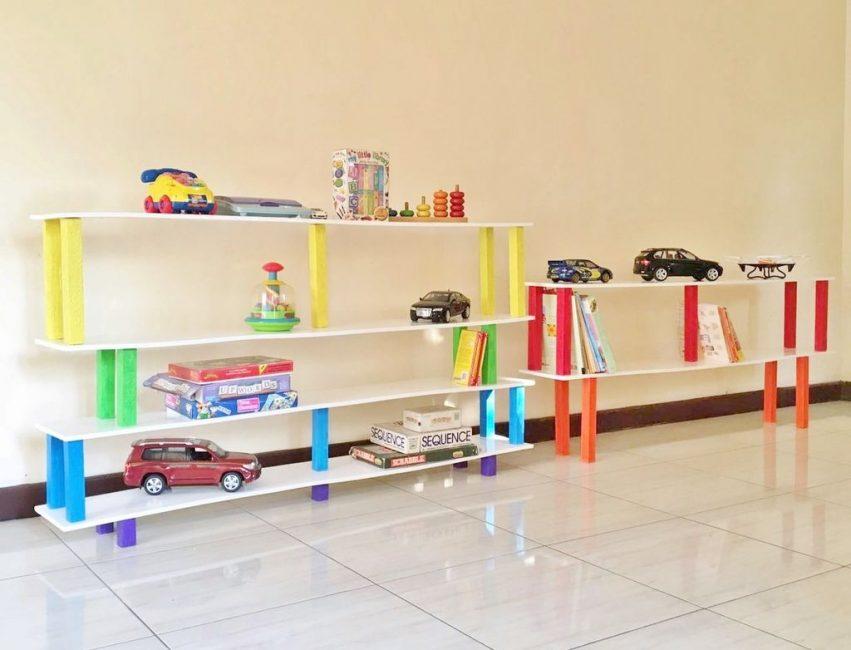 Взрослое творчество для детской комнаты