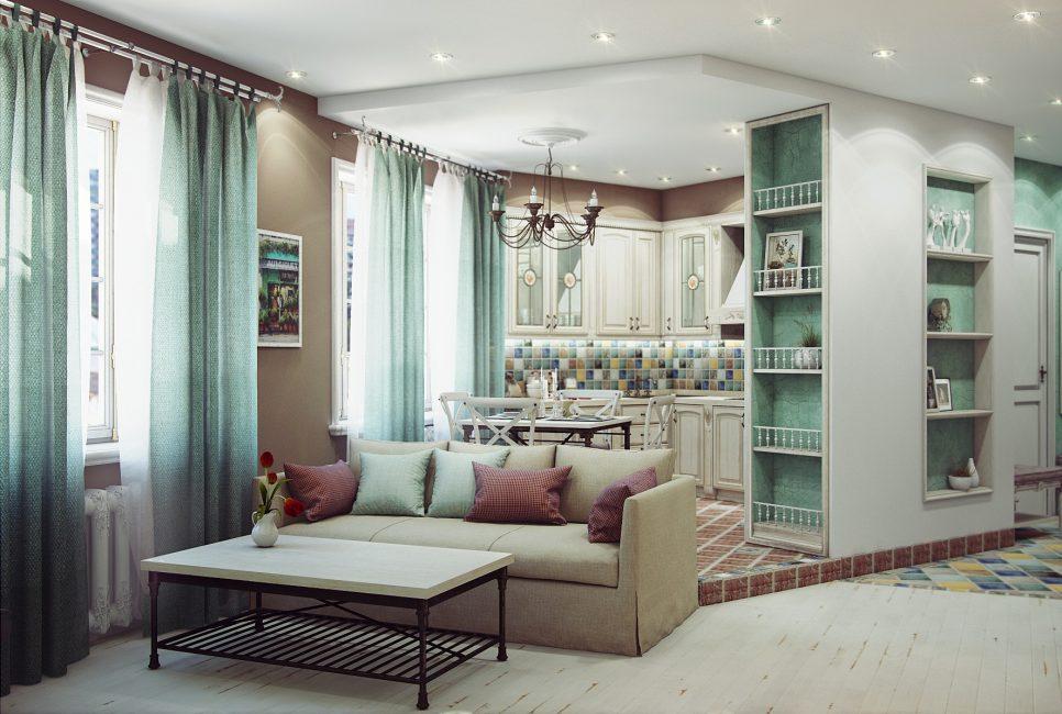 Изящные полочки для декора помещения