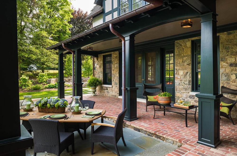 Одноэтажный Дом с Террасой 175 Фото Красивых Проектов