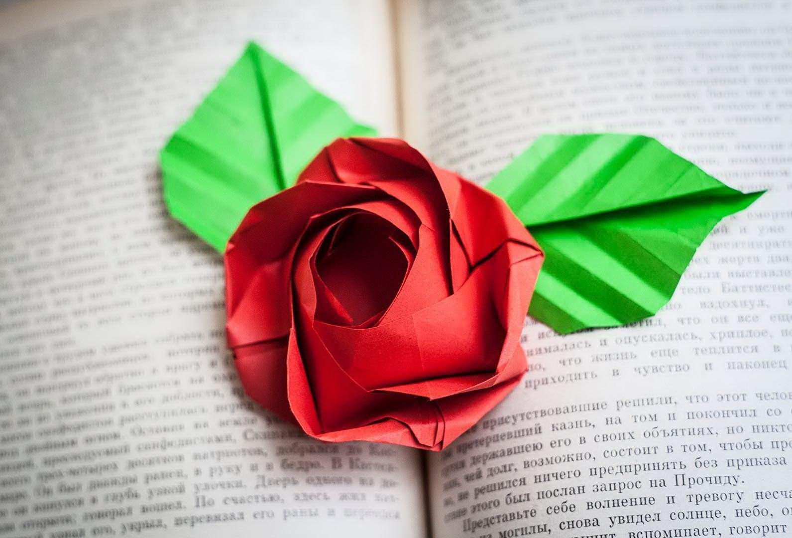Тебе, картинки розы из бумаги