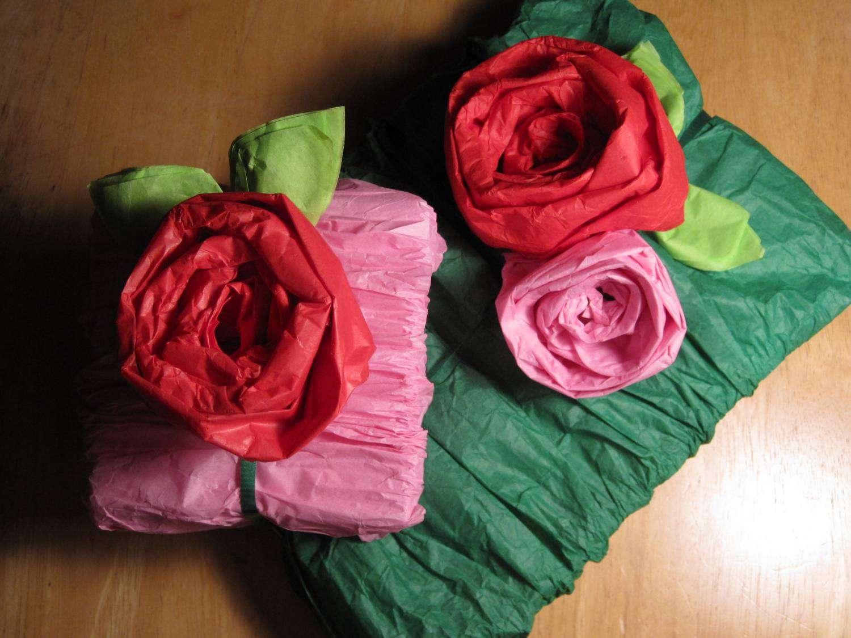 Цветы из бумаги своими руками. Мастер класс 48