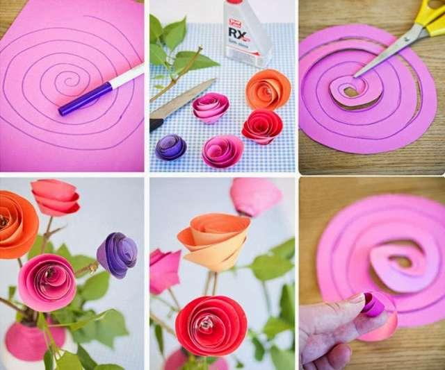 Украшаем интерьер яркими розами