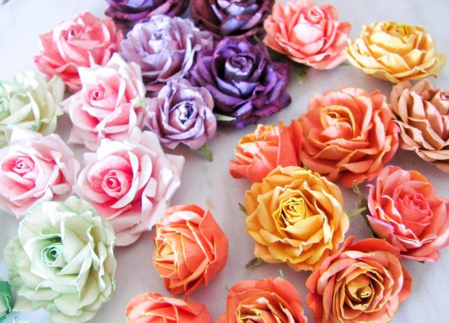 Разноцветные и красивые