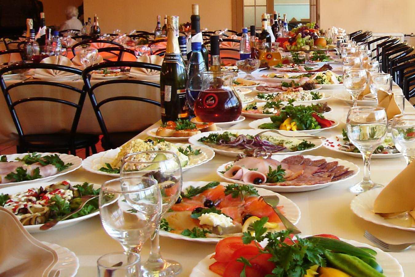 Как быстро накрыть стол для гостей рецепты