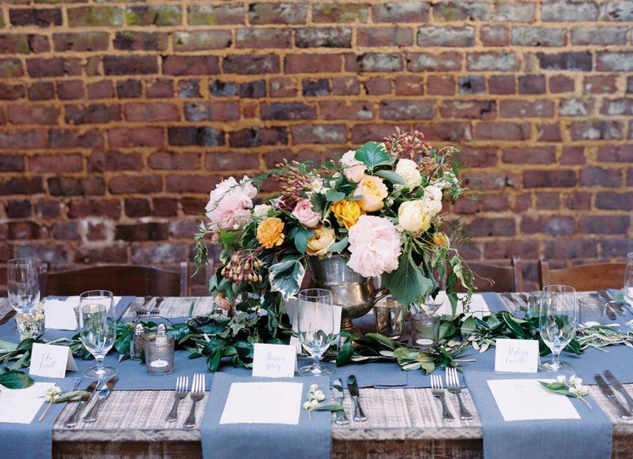 Сервировка к юбилею свадьбы