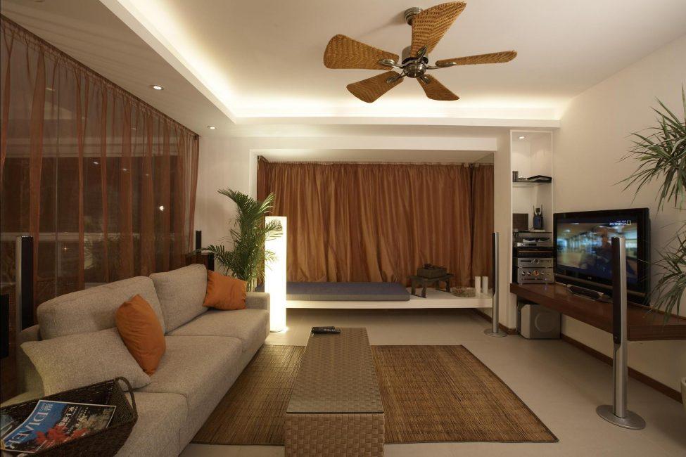 Теплые оттенки как вариант дизайна комнаты
