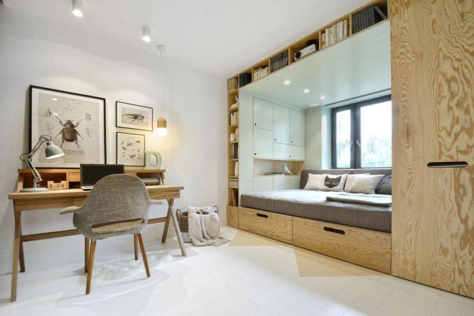Светлые стены для маленькой квартиры