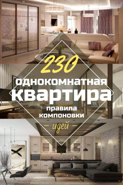 230+ Фото Идей интерьеров 1-й квартиры