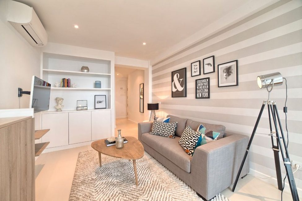 Кремовые и бежевые цветовые оттенки часто используются в интерьере как цвет стен