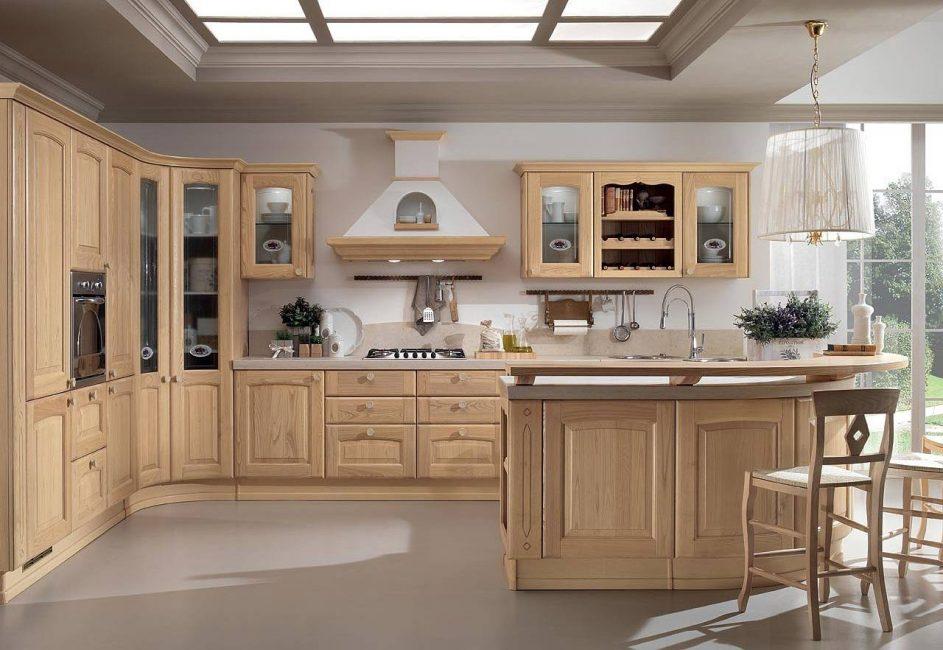 Классический цвет для классической кухни