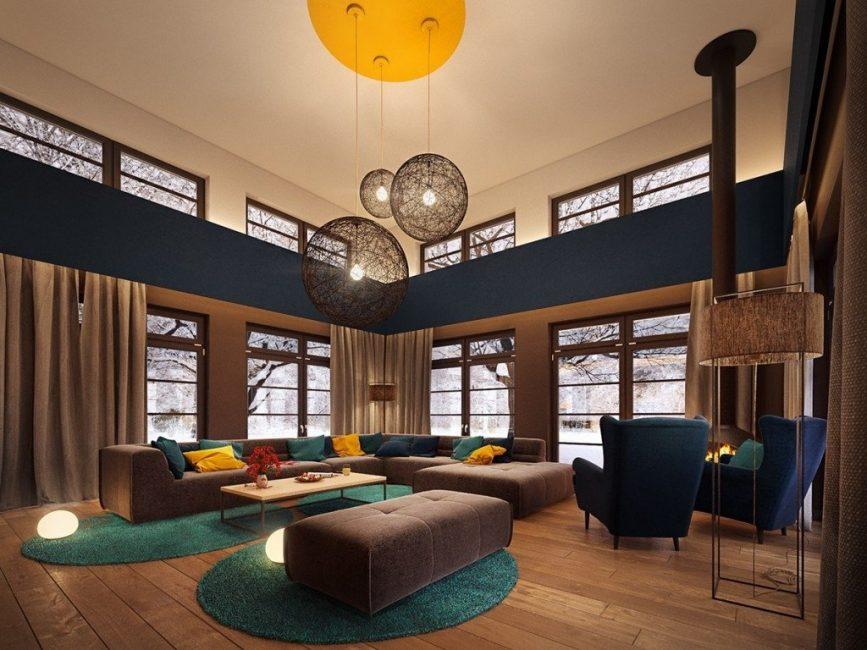 Модерн – одно из самых современных направлений в дизайне интерьера