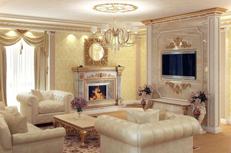 Мебель из кожи подчеркнет элегантность убранства
