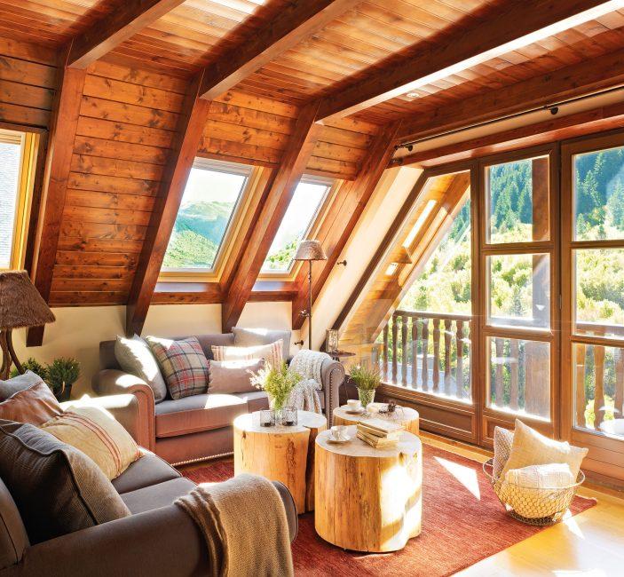 Свет обеспечат окна, расположенные в крыше