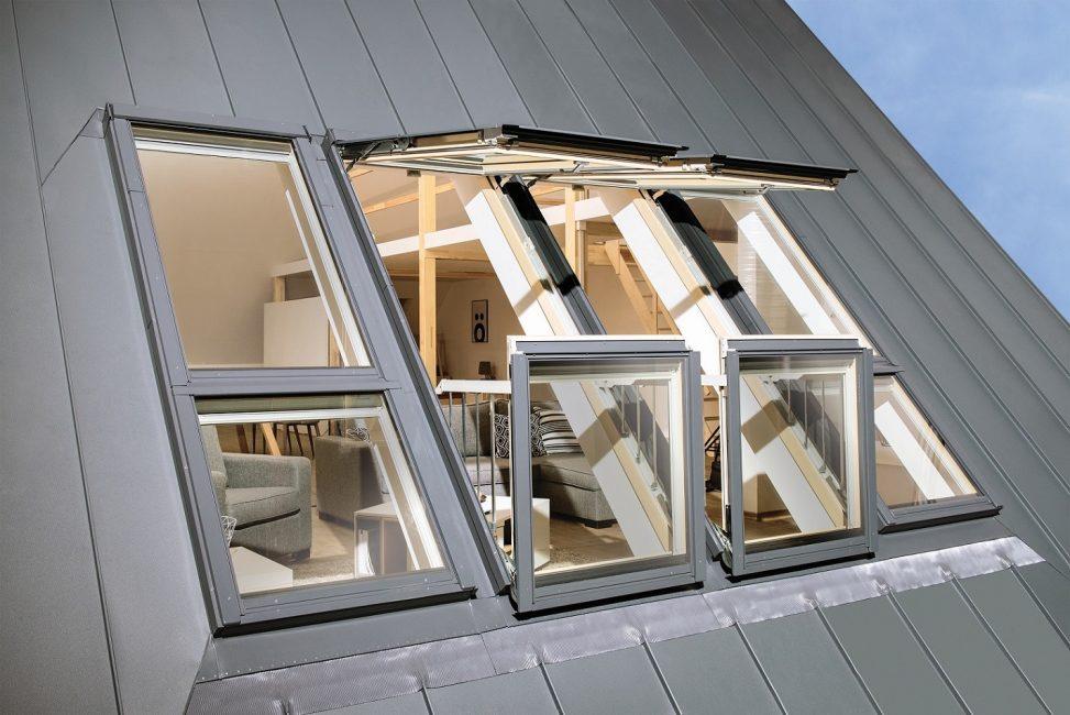 Окна-балконы - нестандартное решение