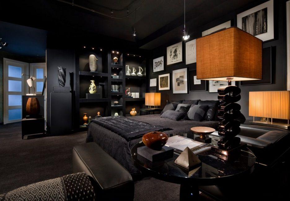 Цвет подходит для создания элегантного, стильного, изысканного дизайна интерьера