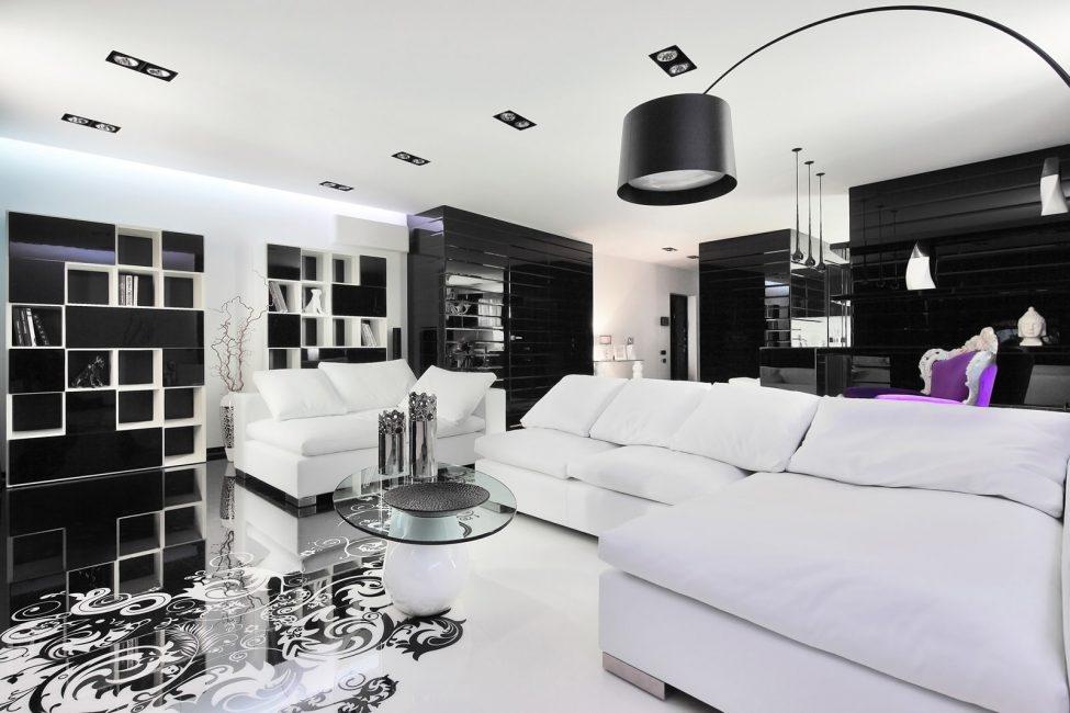Гостиная в стиле Deco