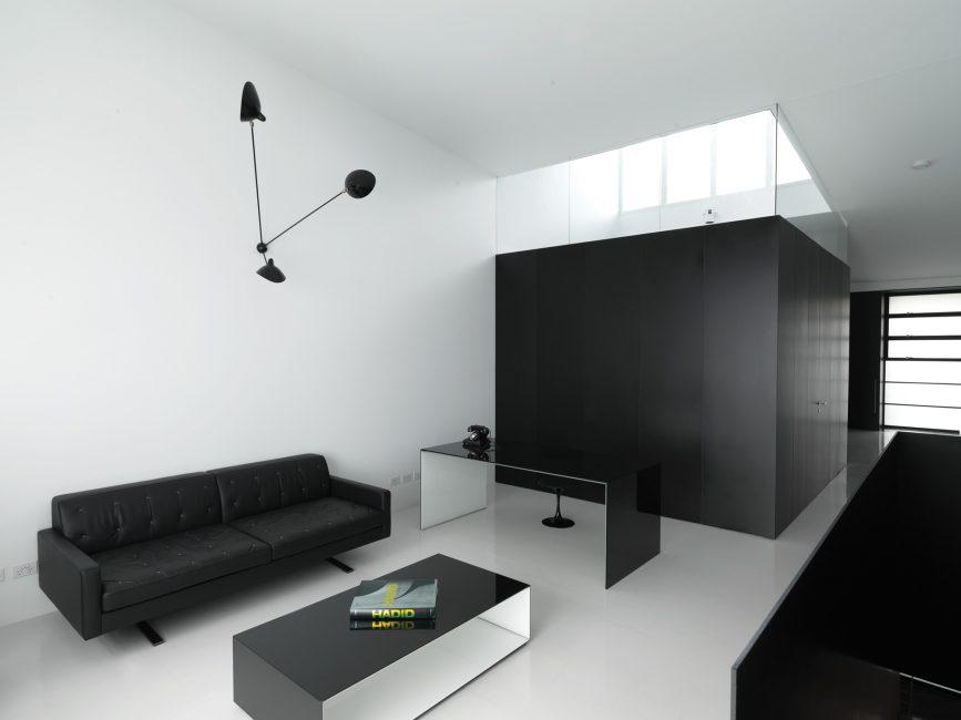 Декор минималистской гостиной