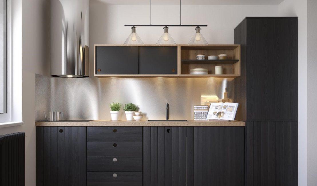 Шкафы и техника имеют большое влияние на то, как выглядит кухня