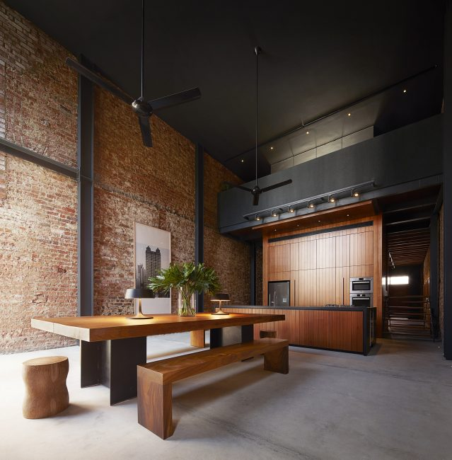 Смелое решение для просторных комнат