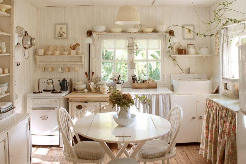 кухни в стиле прованс 240 фото современных интерьеров